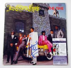 Morris Day Signed LP Record Album The Time Ice Cream Castle w/ JSA AUTO