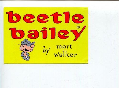 Mort Walker Beetle Bailey Artist Cartoonist Signed Autograph Photo