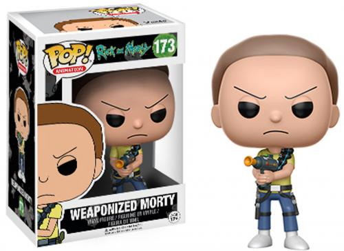 Morty Rick and Morty #173 Weaponized Funko Pop!