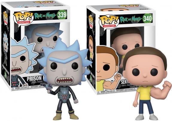 Morty & Rick Funko Pop! Bundle