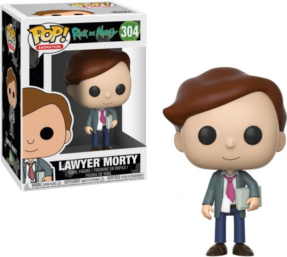Morty Rick & Morty Lawyer #304 Funko Pop!
