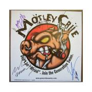 Motley Crue Signed Album Promo by all 4 - Lee / Sixx / Neil / Mars - JSA