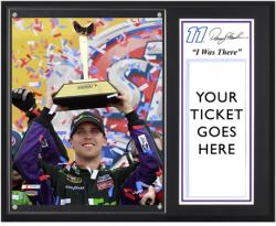 "Denny Hamlin 2012 STP 400 Sublimated 12"" x 15""""I Was There"" Photo Plaque"