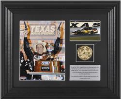 "Greg Biffle 2012 Samsung Mobile 500 Race Winner 6"" x 5"" Photo with Plate & Gold Coin - Limited Edition of 316 - Mounted Memories"