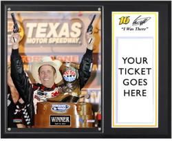 """Greg Biffle 2012 Samsung Mobile 500 Sublimated 12"""" x 15"""" I Was There Photo Plaque"""