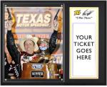 Greg Biffle 2012 Samsung Mobile 500 Sublimated 12'' x 15'' I Was There Photo Plaque - Mounted Memories