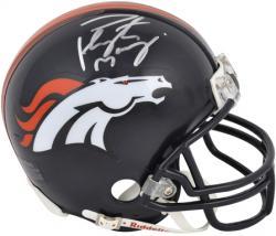 Denver Broncos Peyton Manning Autographed Mini Helmet