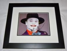 Jack Nicholson (Joker) (FRAMED) Autographed 8x10 Photo