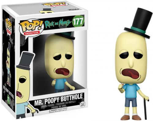 Mr. Poopy Butthole Rick and Morty #177 Funko Pop!
