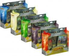 Mtg Magic 2011 Commander Deck Box + 100 Ct Box Dragon Shields
