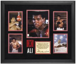 Muhammad Ali Framed 5-Photograph Champions Presentation-Limited Edition of 500