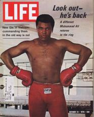 Muhammad Ali ORIGINAL October 23 1970 Life Magazine