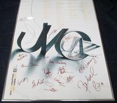 Multi Signed 2001 JVC Jazz Festival New York Poster 17 Signatures Total