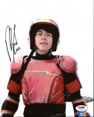 Munro Chambers Turbo Kid Signed 8X10 Photo PSA/DNA #AC45135