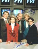 Murphy Brown Cast Autographed Signed 11x14 Photo Certified Authentic JSA LOA
