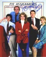 Murphy Brown Cast by 5 Autographed Signed 8x10 Photo Certified Authentic JSA LOA