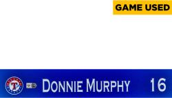 Donnie Murphy Texas Rangers 2014 Opening Day Locker Nameplate  - Mounted Memories  - Mounted Memories