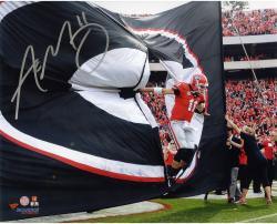 Aaron Murray Georgia Bulldogs Autographed 8'' x 10'' Entrance Photograph - Mounted Memories