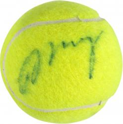 Andy Murray Autographed US Open Logo Tennis Ball