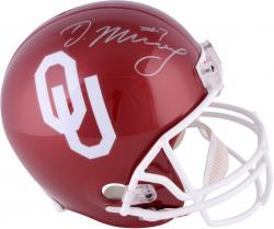 Demarco Murray Oklahoma Sooners Autographed Riddell Replica Helmet
