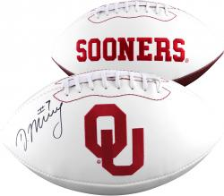 Demarco Murray Oklahoma Sooners Autographed White Panel Football