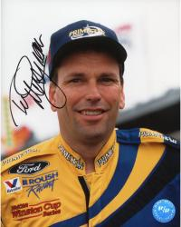 Ted Musgrave Autographed 8x10 Photo