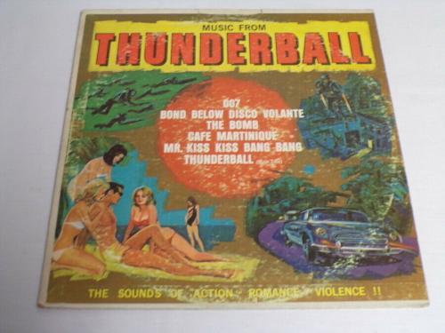 Music From Thunderball James Bond ORIGINAL Vintage 1965 Vinyl LP Record Album