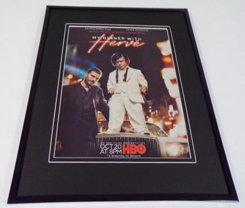 My Dinner With Herve Framed 11x14 ORIGINAL Advertisement Peter Dinklage J Dornan