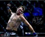 "Myles Jury Ultimate Fighting Championship Autographed Knockout Celebration 16"" x 20""  Photograph"