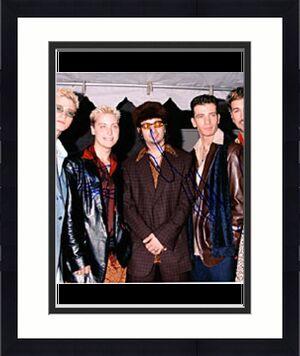 'N Sync Autographed Celebrity 8x10 Photo