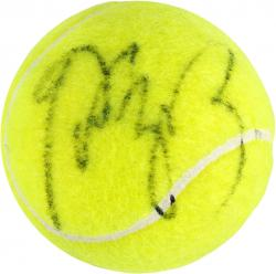 Li Na Autographed US Open Logo Tennis Ball