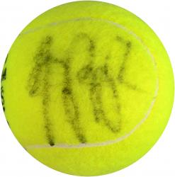 Li Na Autographed Wimbledon Logo Tennis Ball