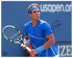 "Rafael Nadal Autographed 8"" x 10"" 2011 US Open Photograph"