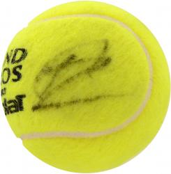 Rafael Nadal Autographed French Open Logo Tennis Ball