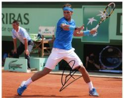 "Rafael Nadal Autographed 8"" x 10"" Lacoste Royal Photograph"