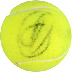 Rafael Nadal & Novak Djokovic Dual Autographed Tennis Ball