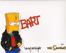 "NANCY CARTWRIGHT Signed Autographed ""BART SIMPSON"" 11x14 Photo PSA/DNA #W81934"