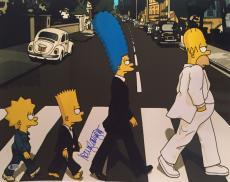 Nancy Cartwright Signed Bart Simpson Metallic 16x20 Photo *Beatles BAS