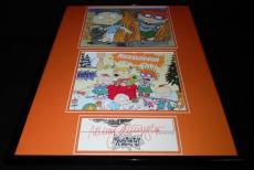 Nancy Cartwright Signed Framed 16x20 Photo Display JSA Rugrats Chuckie Finster