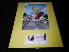 Nancy Cartwright Signed Framed 16x20 Photo Poster Display JSA Bart Simpson