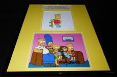 Nancy Cartwright Signed Framed 16x20 Photo Set JSA Simpsons Voice of Bart