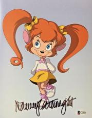 NANCY CARTWRIGHT Signed Pistol Goof Troop Disney Autographed 8x10 Photo BAS A