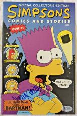 NANCY CARTWRIGHT Signed The Simpsons #1 Comic Book 1993 Autographed BAS COA