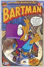 NANCY CARTWRIGHT Signed The Simpsons 1 Comic Book Bongo 1993 Autographed BAS COA