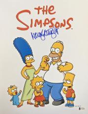 NANCY CARTWRIGHT Signed The Simpsons Bart Simpson Autographed 11x14 Photo BAS G