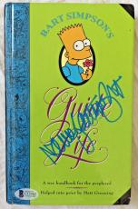 NANCY CARTWRIGHT Signed The Simpsons Bart Simpson Book Autographed BAS COA