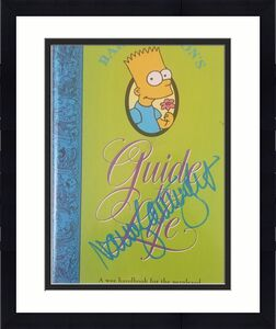 NANCY CARTWRIGHT Signed The Simpsons Bart Simpson Book Autographed BAS COA 3981