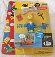 NANCY CARTWRIGHT Signed The Simpsons Bart Simpson Figure Autographed BAS COA C