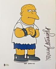 NANCY CARTWRIGHT Signed The Simpsons Kearney Bully Autographed 11x14 Photo BAS A