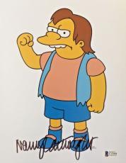 NANCY CARTWRIGHT Signed The Simpsons Nelson Muntz Autographed 8x10 Photo BAS A